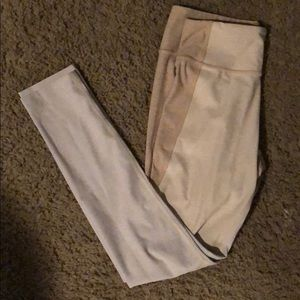 Outdoor Voices 3/4 Two Tone Leggings - S